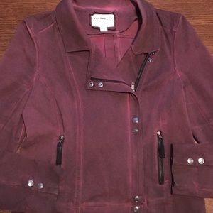 Anthropologie- Marrakech Distressed Moto Jacket